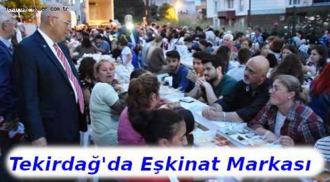 Tekirdağ'da Kılıçdaroğlu'nun Yolundan İlerleyen Başkan Eşkinat