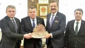 Tekirdağ'dan Ankara'ya Önemli Bağlantılar ve İş Görüşmeleri Yapıldı