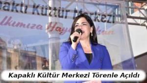 Tekirdağ Kapaklı'da Atatürk Kültür Merkezi Açılışı Yapıldı