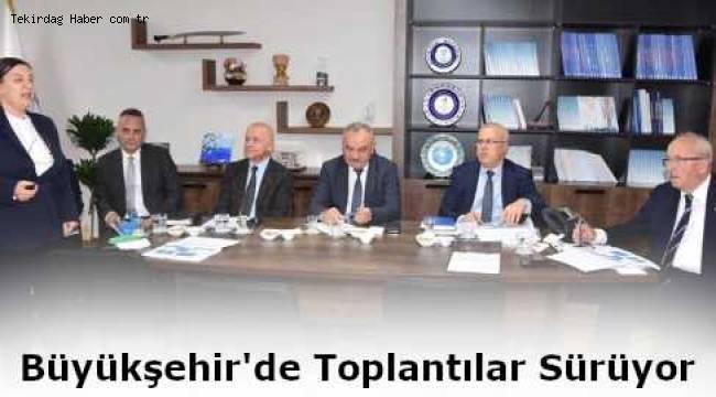 Başkan Albayrak Büyükşehir Yanı Sıra TESKİ'de Brifing Toplantılarını Dinledi