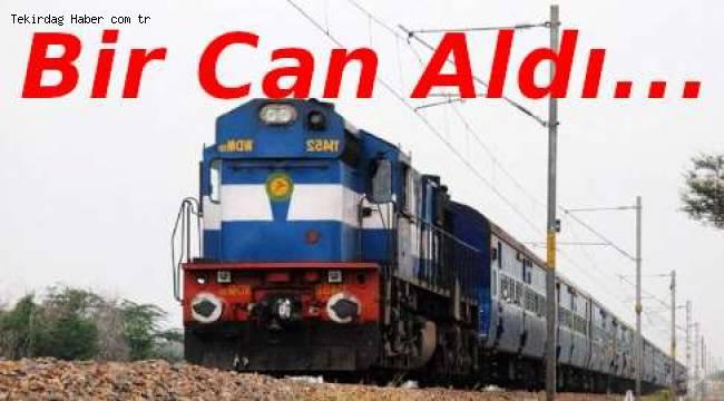 Çerkezköy Hemzemin Geçitte Kaza 1 Kişi Tren Altında Kalarak Öldü