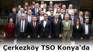 Çerkezköy TSO'dan Konya Ziyareti