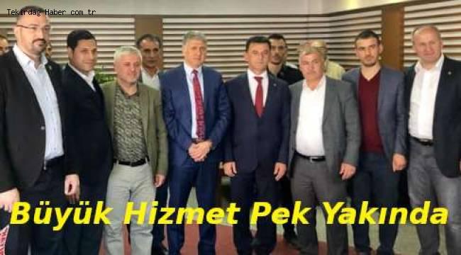 Kapaklı Yeni Belediye Başkanı Mustafa Çetin Durmak Bilmiyor!