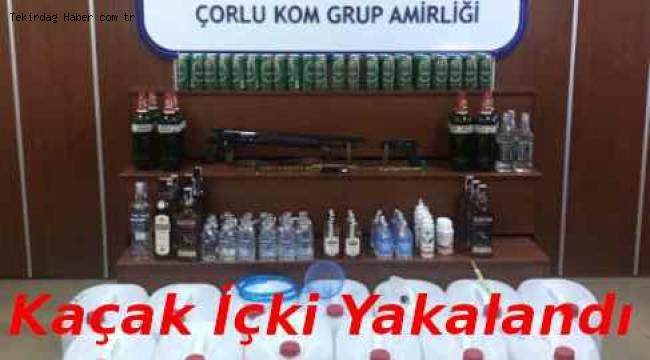 Tekirdağ Emniyeti Suçluya Göz Açtırmıyor! İşte Tekirdağ Kaçak İçki Operasyonu Haberi