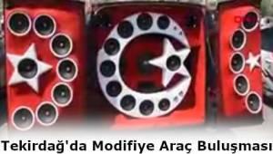 Tekirdağ Motor Sporları Derneği Tuning Fest 2019'a Modifiye Araçları Topladı