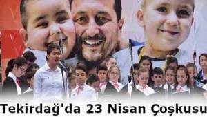 Tekirdağ Süleymanpaşa Belediyesi 5. Çocuk Şenliği Büyük Bir Coşkuyla Başladı