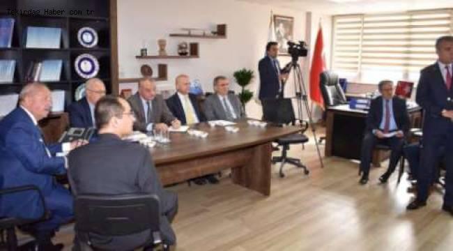 TESKİ'deki Bilgilendirme Toplantısına Başkan Kadir Albayrak da Katıldı