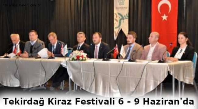 Başkan Yüksel Tekirdağ Süleymanpaşa Kiraz Festivali Son 10 Yılın En İyisi Olacak!