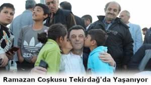 Kapaklı Gönül Sofralarına Karaağaç'ta Devam Ediyor