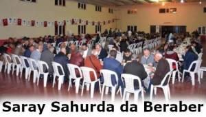 Tekirdağ Büyükşehir Belediyesi Sahur Programına Yoğun Katılım