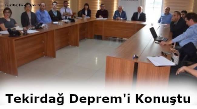 Tekirdağ Büyükşehir Belediyesi Türkiye Bina Deprem Yönetmeliği Eğitimi Aldı