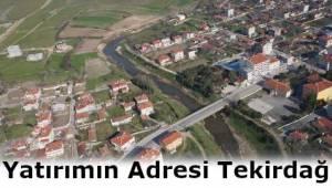 Tekirdağ Çerkezköy Kapaklı ve Saray Mevkiinde En Uygun Acil Satılık Tarla ve Arsalar