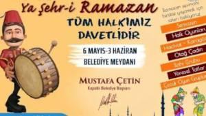 Tekirdağ Kapaklı Belediyesi Ramazan Ayı Etkinlikleri ve Ramazan Orucu İftar Çadırları