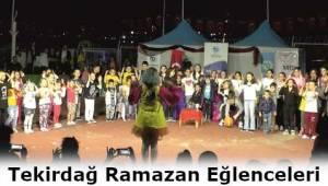 Tekirdağ Ramazan Eğlencesiyle Kültürünü Yaşadı