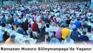 Tekirdağ Süleymanpaşa Ramazan Ayında