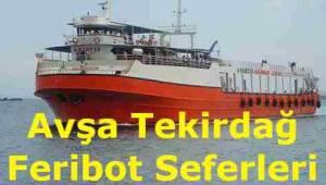 Avşa Tekirdağ Feribot Seferleri 2019 (Marmara RoRo)