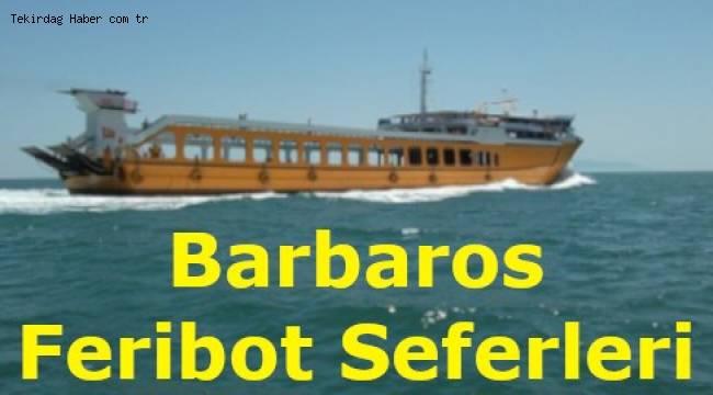 Barbaros Feribot Seferleri 2019 (MarmaraRoRo)