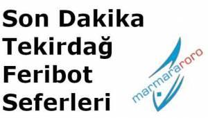Erdek Saraylar Avşa Barbaros Marmara Çınarlı Bandırma Tekirdağ Feribot Seferleri ve Ücretleri 2019 Güncel Listesi