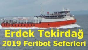 Erdek Tekirdağ Feribot Seferleri 2019 (Marmara RoRo)