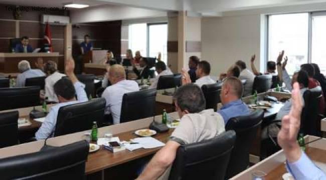 Kapaklı Belediyesi Haziran Ayı Olağan Meclis Toplantısı Yapıldı
