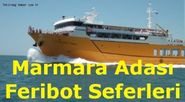 Marmara Adası Feribot Seferleri 2019 (MarmaraRoRo)