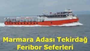 Marmara Adası Tekirdağ Feribot Seferleri 2019 (MarmaraRoRo)