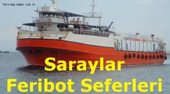 Saraylar Feribot Seferleri 2019 (MarmaraRoRo)