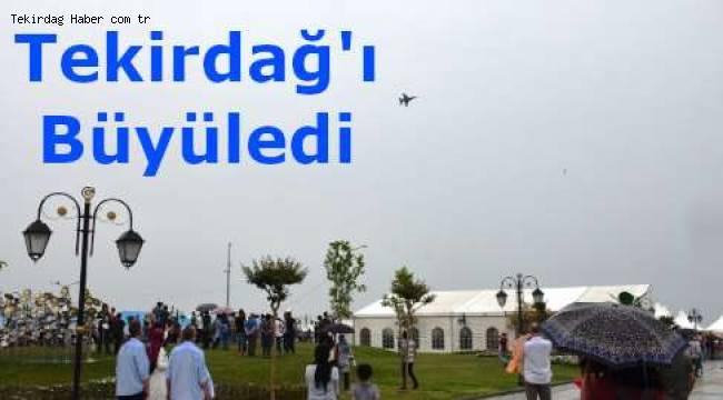 Solotürk Tekirdağ'da İzleyenlerin Nefesini Kesti! İşte Nefes Kesen O Solotürk Gösterisinden Detaylar