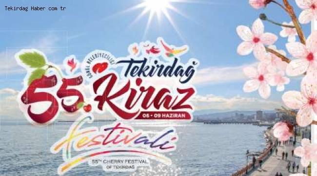 Tekirdağ 55. Uluslararası Kiraz Festivali Güzeli Sahra Kardelen Karataş Oldu