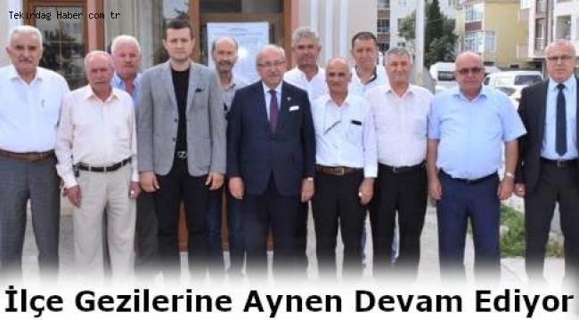Tekirdağ Büyükşehir Belediye Başkanı Çerkezköy'de