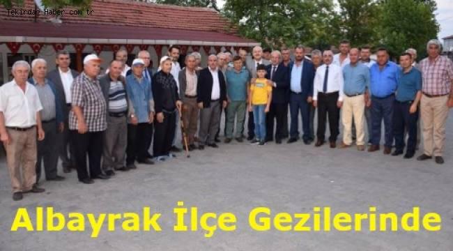 Tekirdağ Büyükşehir Belediye Başkanı Hayrabolu'nda