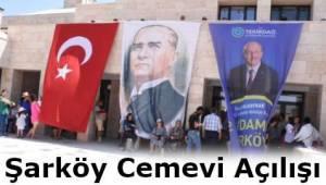 Tekirdağ Şarköy Cemevi Açılışı Yapıldı