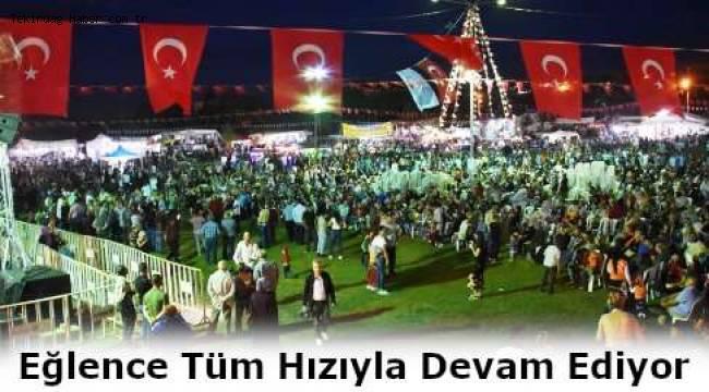 Tekirdağ Süleymanpaşa Belediyesi Karadeniz Yayla Şenlikleri'ne Büyük İlgi