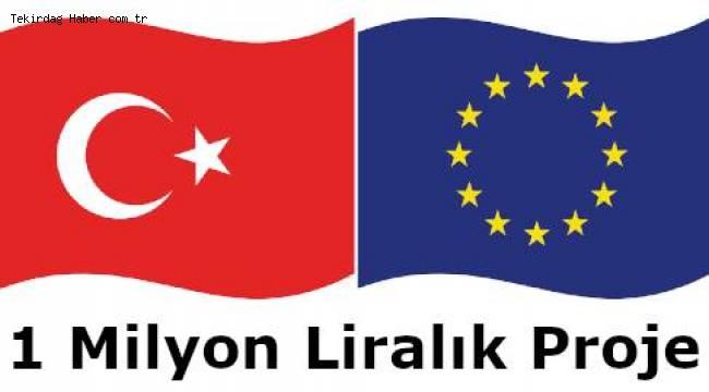 Avrupa Diyaloğunu Geliştirme Projesi Çerkezköy'de Hayat Buluyor