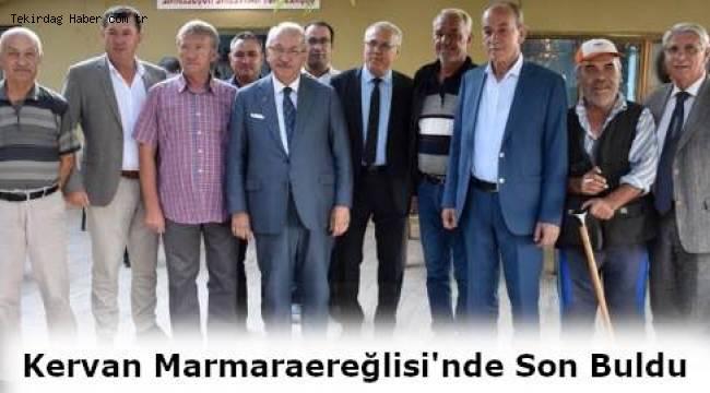 HİZMET KERVANI MARMARAEREĞLİSİ'DE SON BULDU