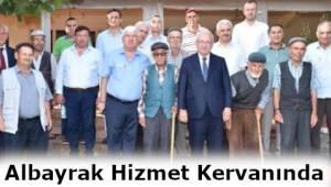 Kadir Albayrak'ın Hizmet Kervanı Tekirdağ'ın Ergene İlçesinde