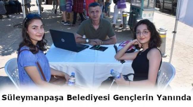 Süleymanpaşa Belediyesinden Öğrenciler İçin Örnek Tercih Uygulaması