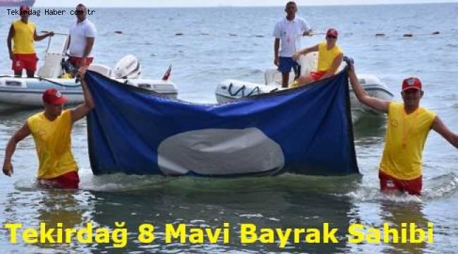 Tekirdağ Sahillerinde Üçü Yeni Mavi Bayrak Almayı Hak Etti