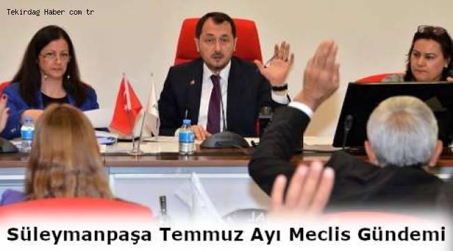 Tekirdağ Süleymanpaşa Belediye Meclisi 2 Temmuz Salı Toplanacağını Açıkladı