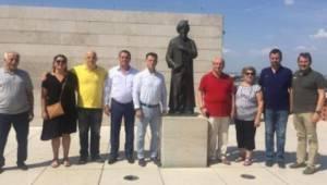 Tekirdağ Başkanlarından Gül Baba Türbesine Ziyaret