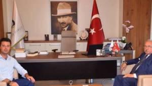 Büyük Başkan Albayrak Çorlu Belediye Başkanı Ahmet Sarıkurt'u Ziyaret Etti