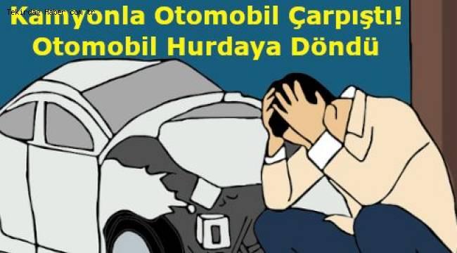 Tekirdağ'da Trafik Kazası! Bir Kişi Yaralandı İşte Son Haberler