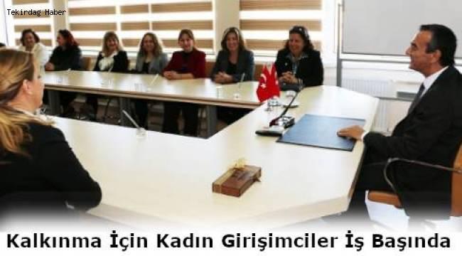 Tekirdağ ve Çerkezköylü Kadın Girişimciler ÇTSO'da Bir Araya Geldiler