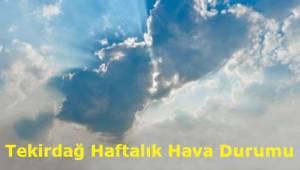 Enson Tekirdağ Hava Durumu Tahminleri 14-21 Kasım 2019