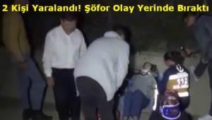 Tekirdağ'da Alkollü Sürücü 2 Kişiyi Yaraladıktan Sonra Aracını Bırakarak Gitti