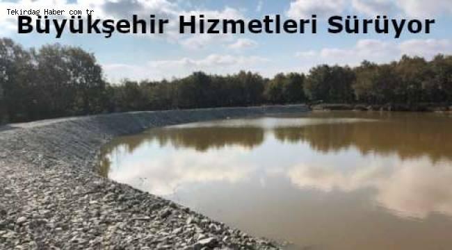 Tekirdağ'da Hayvan İçme Suyu Göletleri Artık Kış Koşullarından Zarar Görmeyecek