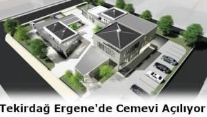 Tekirdağ Ergene'de Cem Evi Projesi Yatırım Programı Kapsamına Alındı