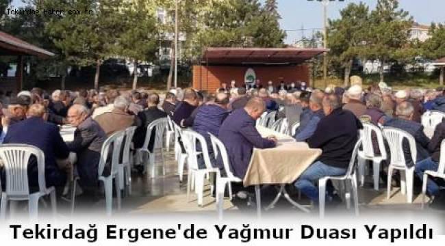 Tekirdağ Ergene'de Yağmur Duası Yapıldı