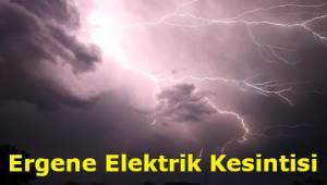 Tekirdağ Ergene Elektrik Kesintisi Son Dakika Listeli Açıklaması!