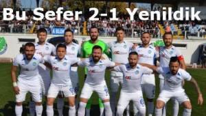 Tekirdağ Ergene Velimeşespor Bandırmaspor'a 2-1 Mağlup Oldu